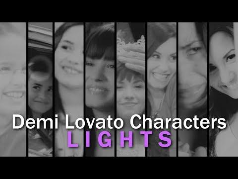 demi lovato characters -lights