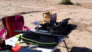 shooting the fn15 rifle fn 5 7 and beretta m9a1