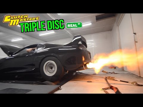 TRC Supra Dyno and Triple Disc Install - Real Street