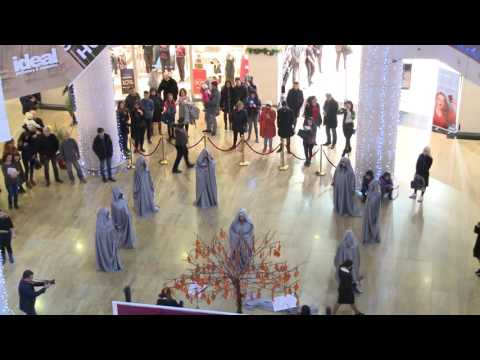 Youth-led flashmob on International Human Rights Day