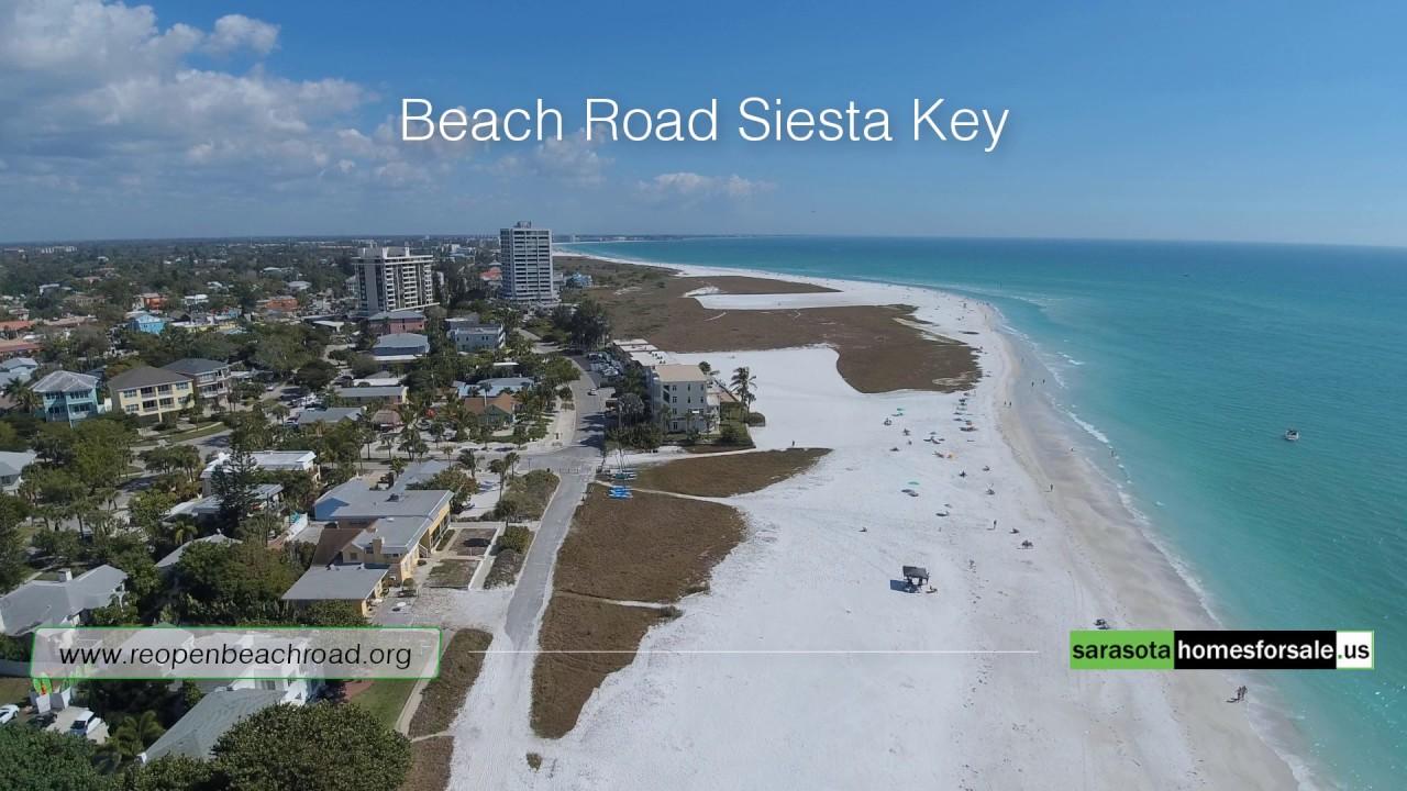 Reopen Beach Road On Siesta Key