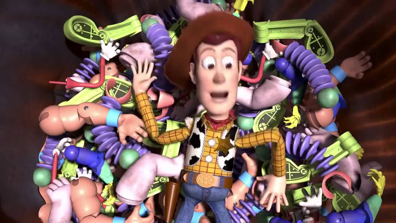 Toy Story 2 Woody Nightmare - YouTube