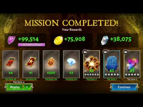 Dungeon Hunter 5 Special Weekly Mission 33 Easy Win | DH5