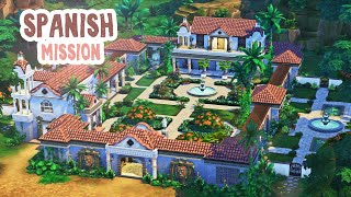 Spanish Mission 🏺🌿 || The Sims 4: Speed Build