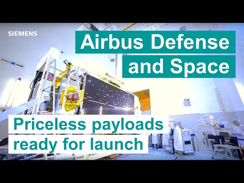 Making priceless payloads ready for launch with Simcenter Testing Solutions