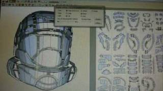 HELPFULL Pepakura Tutorial ODST helmet Part one