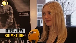 Brimstone - Interview - Martin Koolhoven + Dakota Fanning + Emilia Jones - Pathé