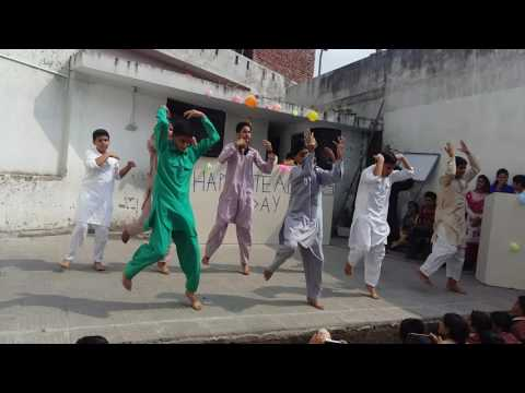 Popleen dance performance