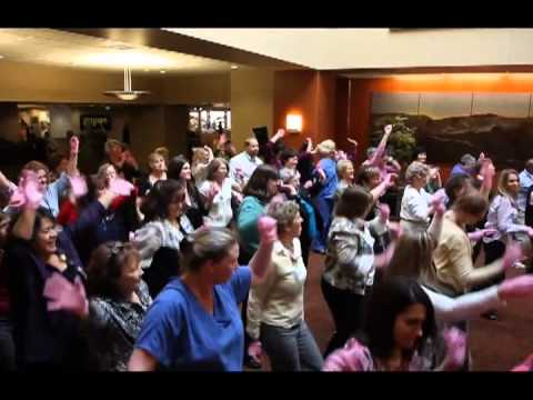 PINK GLOVE DANCE FOR BREAST AWARENESS,Providence St.Vincent Medical Center Portland,Oregon