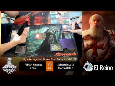 Final Fecha 4 Liga Armagedon 2015 de Mitos y Leyendas p. 1 (Ragnarok)