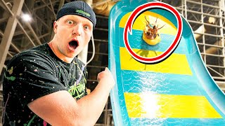 We Played HIDE & SEEK In A WATERPARK!