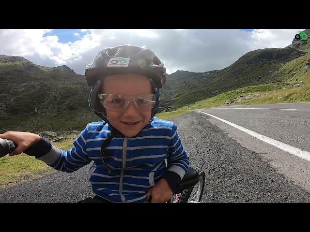 Aventuri pe bicicleta : Aventuri cu fiul meu