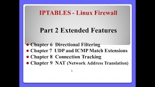 IPTABLES-Linux Firewall - part 2/3