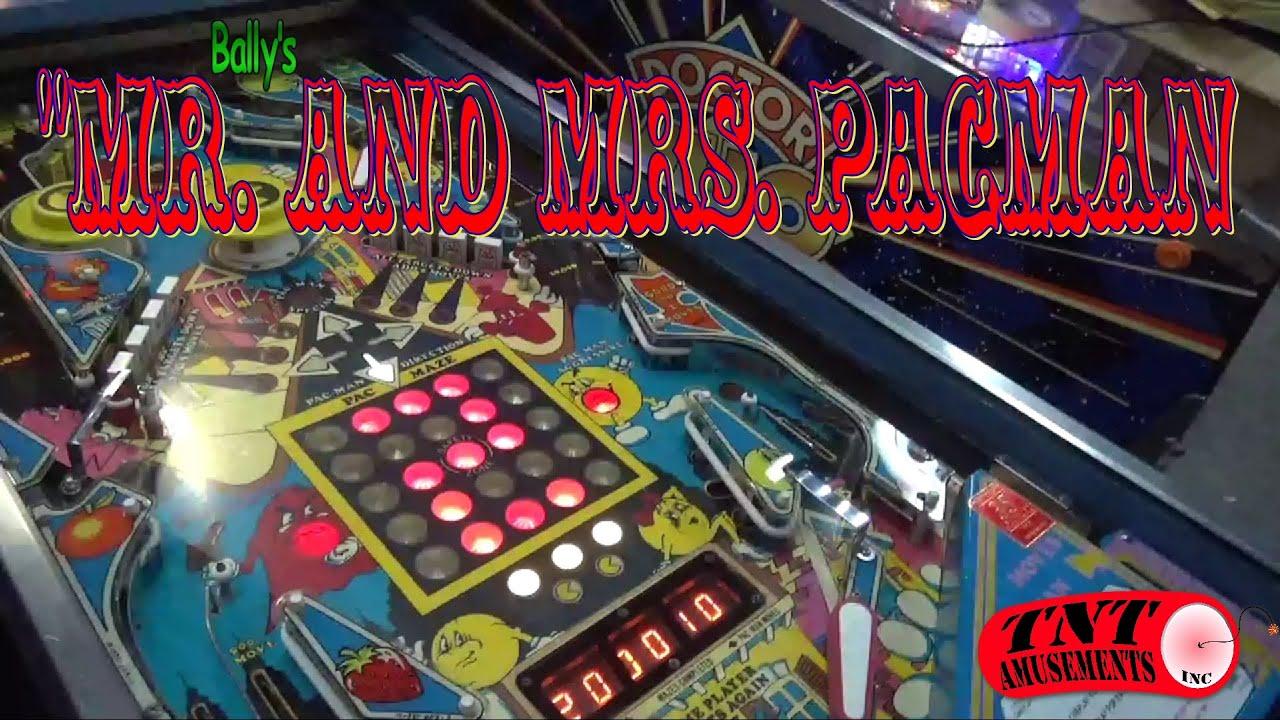 mr mrs pacman pinball machine