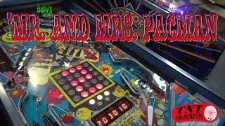#881 Bally MR. & MRS. PACMAN Pinball Machine and maze feature explained! TNT Amusements