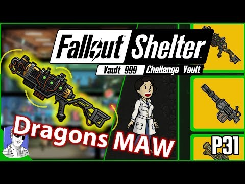 Fallout Shelter Vault 999 I Got The Dragons Maw