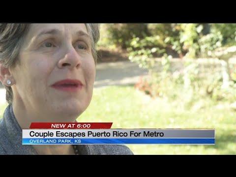 Couple escapes Puerto Rico, comes to the KC metro