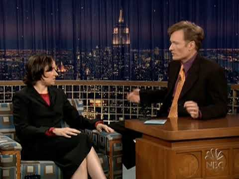 Conan O'Brien 'Sarah Vowell 11504