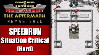 SPEEDRUN: Situation Critical (Hard) - Command and Conquer Red Alert Aftermath Remastered