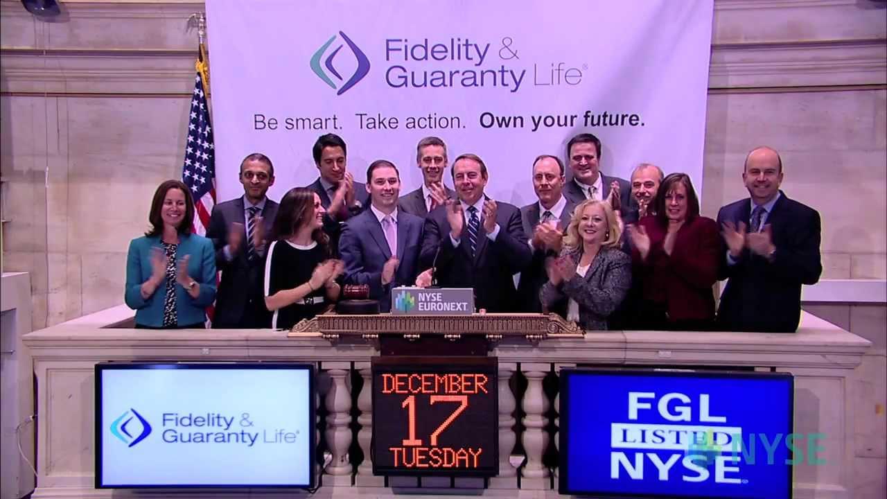 fidelity and guaranty life celebrates recent ipo