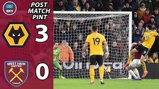 Wolves 3-0 West Ham | Post Match Drive
