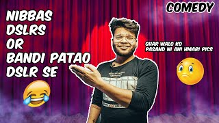 PHOTOGRAPHY, INDIANS and NIBBA talks | stand up comedy | TANUJ