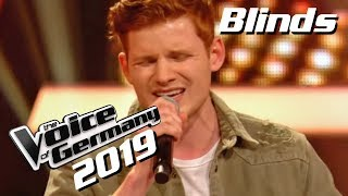 Alec Benjamin - Let Me Down Slowly (Philipp Patt) | The Voice of Germany 2019 | Blinds