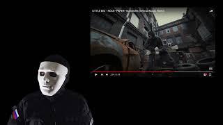 Отряд спецназа смотрит клип: LITTLE BIG - ROCK–PAPER–SCISSORS (Official Music Video) (реакция)