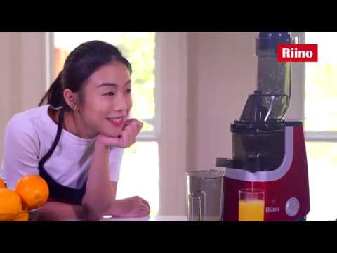 Making Variety of Fruit Juices with Riino Premium Slow Juicer