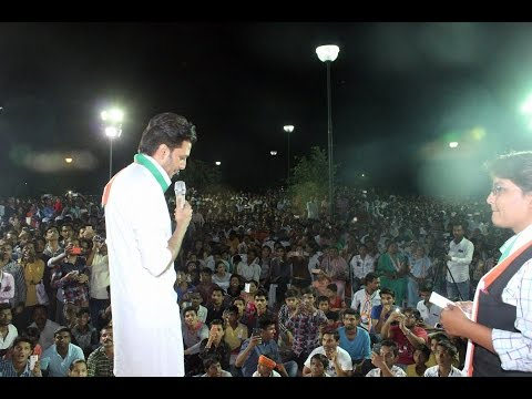 Riteish Deshmukh at Public Meeting In Latur Election Campaign