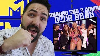 Little Mix & Nicki Minaj @ MTV EMAs 2018 - Good Form / Woman Like Me |REACTION|