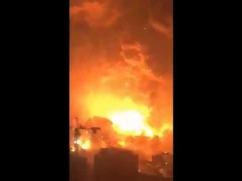 Tianjin explosion