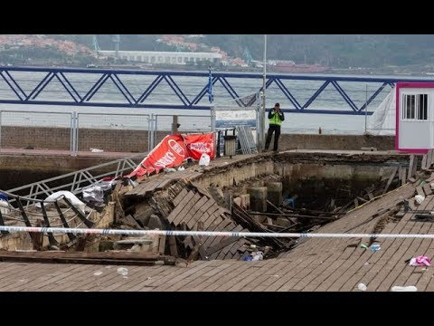 300 injured as wooden pier collapses at O Marisquino music festival in Spain