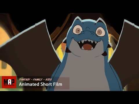 "CGI 2D Animated Short Film ""CRAYON DRAGON"" Adorable Kids Animation Cartoon by Toniko Pantoja CalArts"