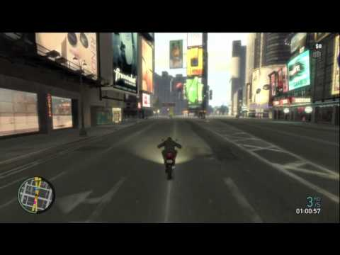 Grand Theft Auto IV   Faggio Races (GTA4 with KYR SP33DY and Deluxe 4)