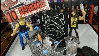 10 Piece HARDCORE Accessories Playset & Display Stands