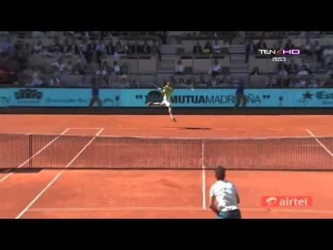 Rafael Nadal Vs David Ferrer HIGHLIGHTS ATP MADRID OPEN 2013 HD]   YouTube