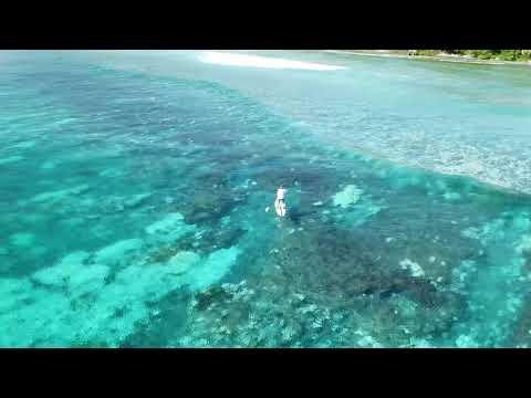 Surfing Kwajalein Marshall Islands
