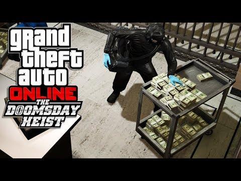 GTA V Online : Doomsday Heist | ROUBAR DINHEIRO AO FBI