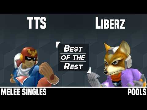 Best of the Rest 2018 - TTS (Captain Falcon) vs Liberz (Fox) - MELEE SINGLES - POOLS