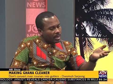 Making Ghana Cleaner - AM Show on JoyNews (2-2-18)