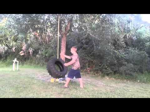 How to build your own tire swing