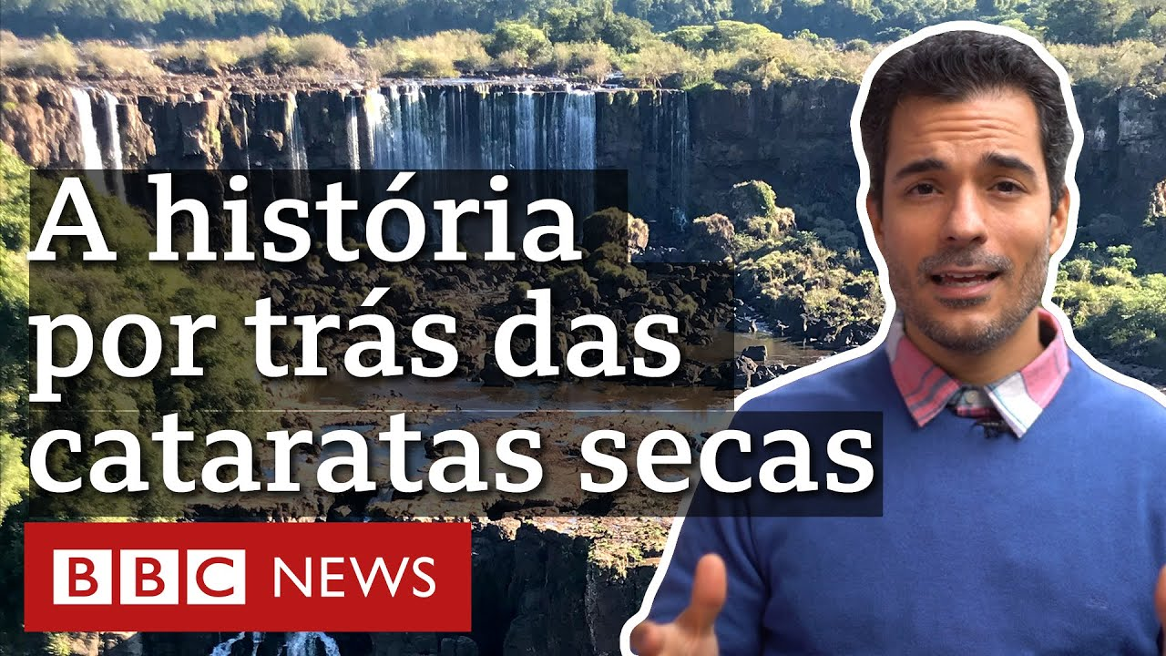 A crise que deixou cataratas do Iguaçu irreconhecíveis e ameaça país de falta d'água e apagão