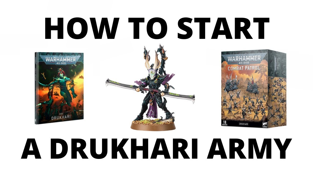 Download How to Start a Drukhari Army - a Guide to Start Collecting the Dark Eldar...