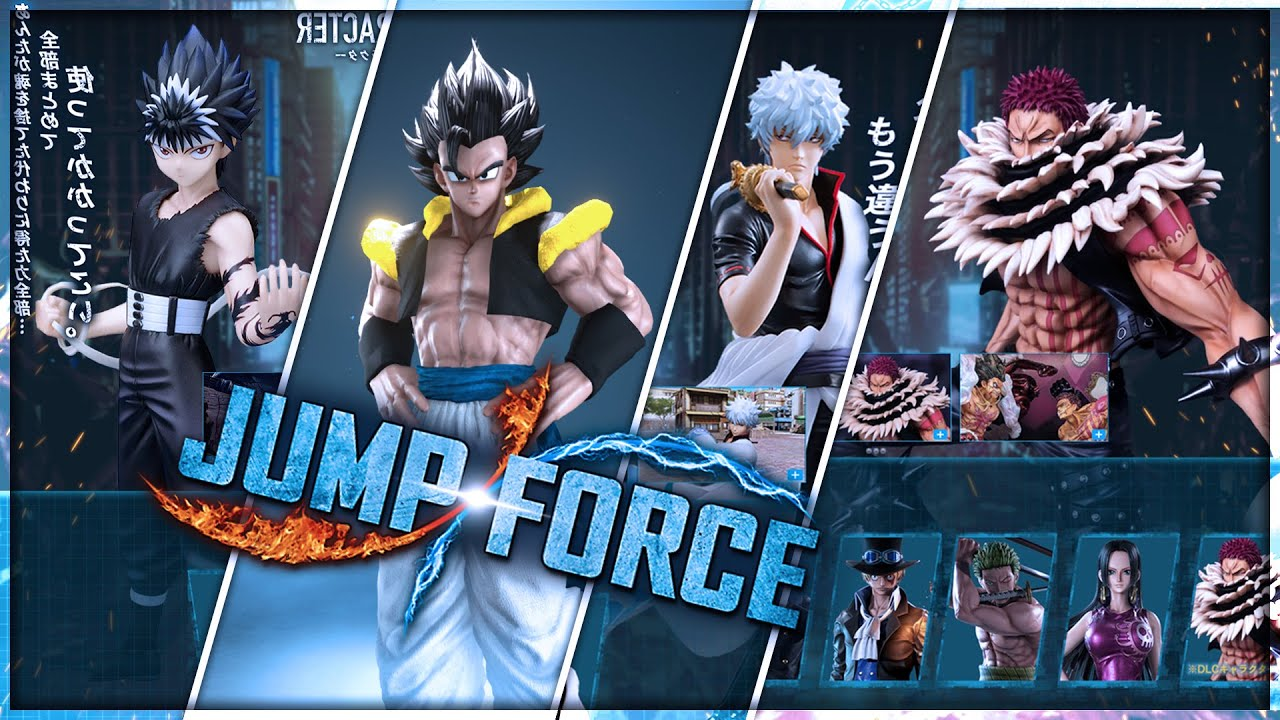 Jump Force: Making The NEW DLC SEASON 2 Roster - YouTube