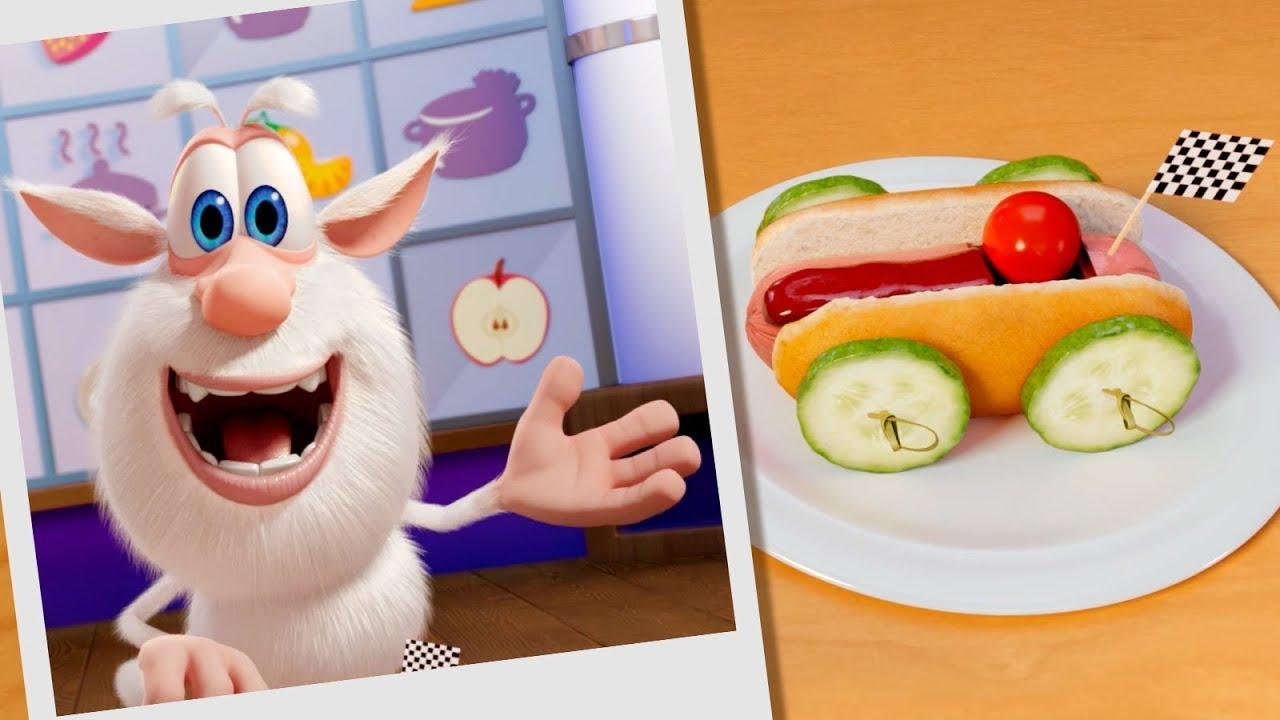 Booba 🏎️🌭  Essen Puzzle: Küchenrennen 🏁  Lustige Cartoons für Kinder - Booba ToonsTV