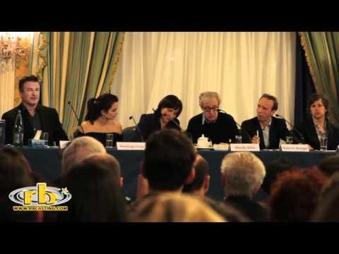 TO ROME WITH LOVE - conferenza stampa con Allen, Benigni e Cruz WWW.RBCASTING.COM
