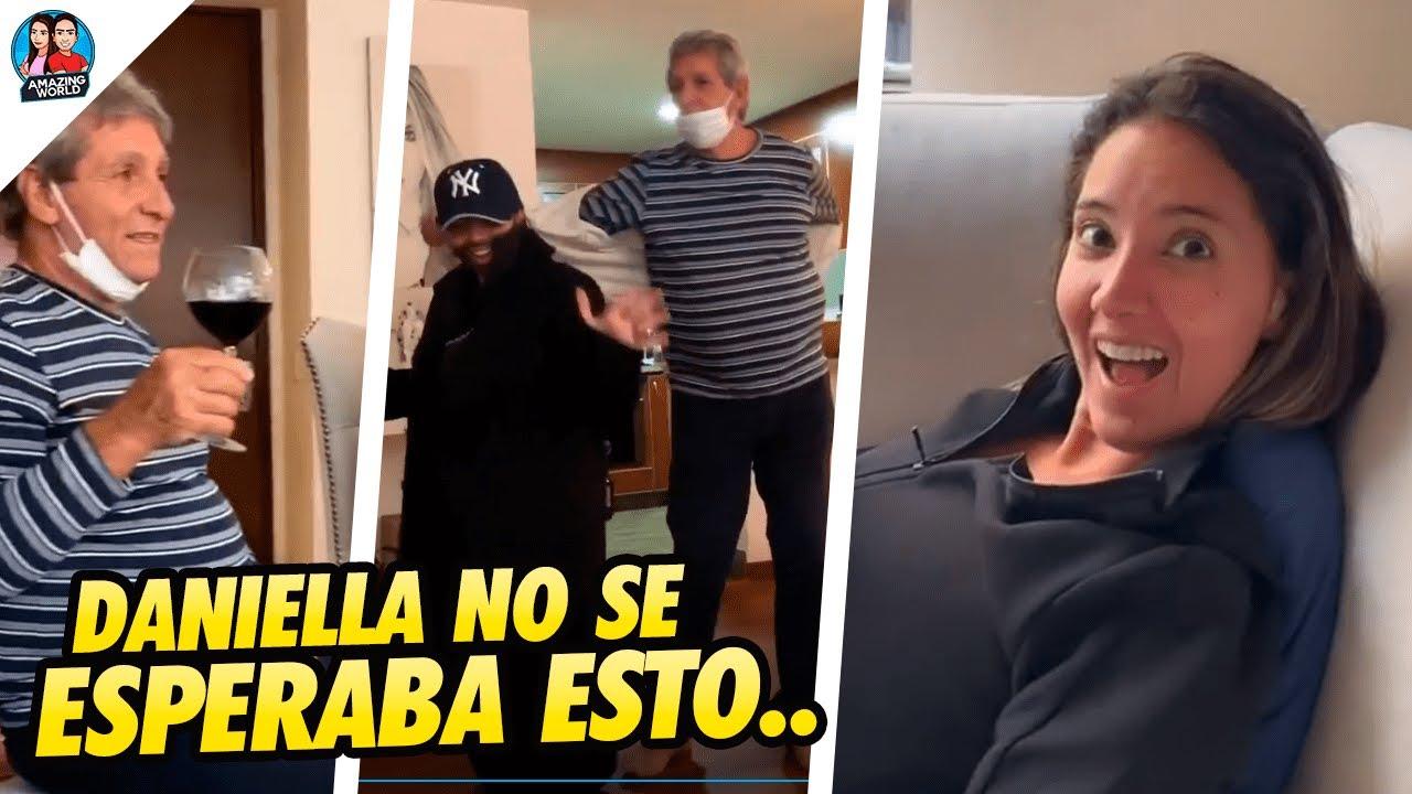 Con un BRINDIS, REGALOS, y muchas cosas más CELEBRARON la MEJORÍA de Daniella Álvarez