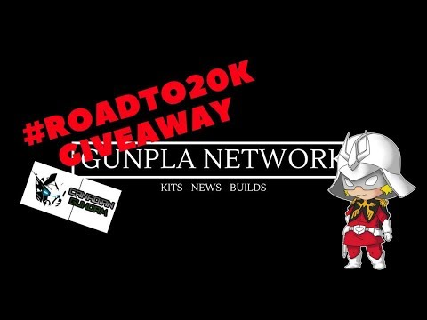 #ROADTO20K Event Giveaway Details Sponsor by Canadian Gundam