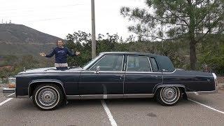 Cadillac Brougham 1989 года - это самый лучший 30-летний Cadillac